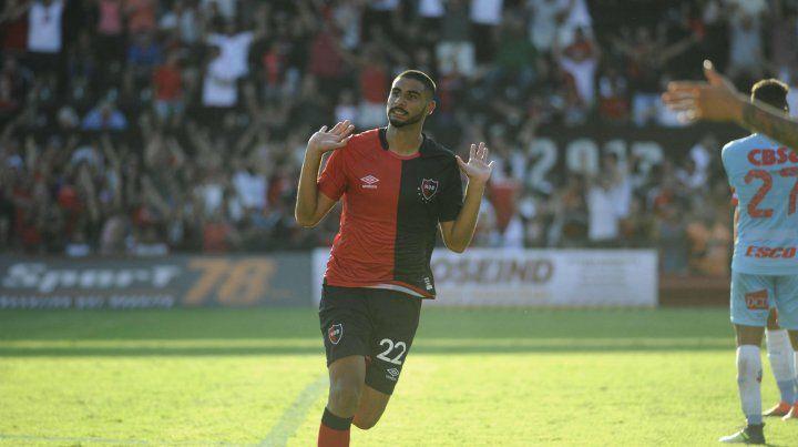 Varela marcó el gol del triunfo contra Arsenal. De Felippe lo tiene en mente para jugar mañana en Tucumán.