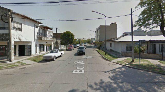 La zona donde el hombre mantuvo cautiva a su mujer y su hija. (Foto: captura de Street View)