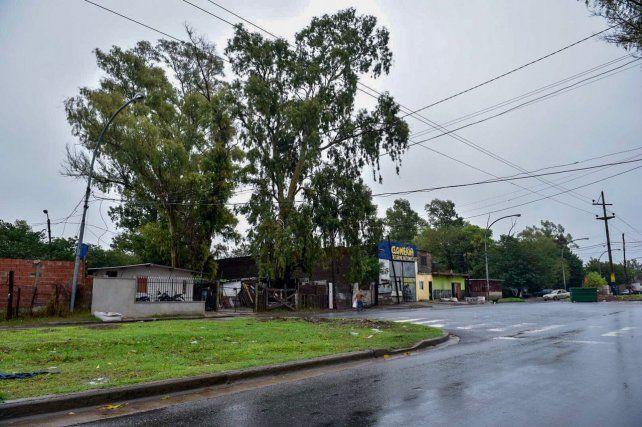 La zona de Avellaneda al 5200 donde balearon al dueño de casa a su mujer.