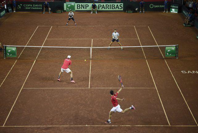 Copa Davis: Argentina perdió el dobles y se complicó ante Chile
