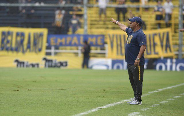 Fundamental. El DT de Central destacó la importancia de haber derrotado a Belgrano en casa.