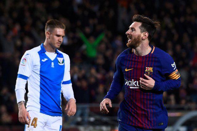 Barcelona ganó y sumó un nuevo récord con tres goles de Leo Messi