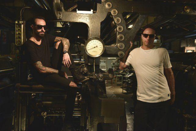 Leonardo Andrés y Franco Cinelli unen su talento para darle vida a Cristal Jams