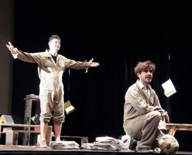 Claudio Garófalo y Lucas Ranzani protagonizan una emotiva y reivindicatoria puesta con un excelente texto.