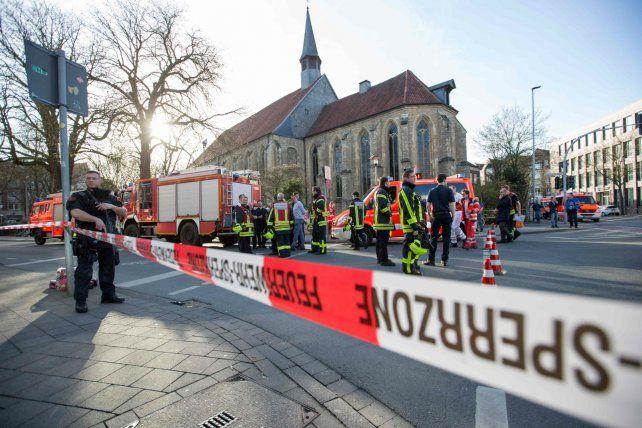Tragedia. Autoridades de la ciudad de Münster descartaron un atentado.