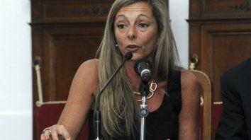 Defensora. Jacquelina Balangione, titular del Servicio Público de la Defensa.