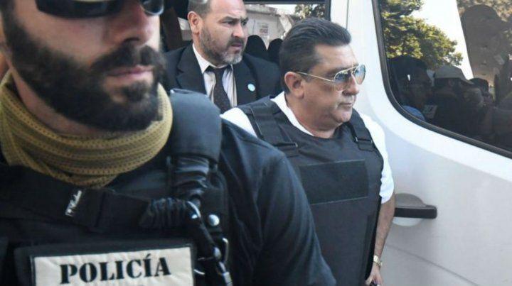 El sospechoso. Luis Paz llegó a declarar contra Los Monos bajo custodia y con chaleco antibalas.