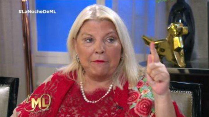 Carrió acusó a Lorenzetti de estar detrás de las denuncias de Natacha Jaitt