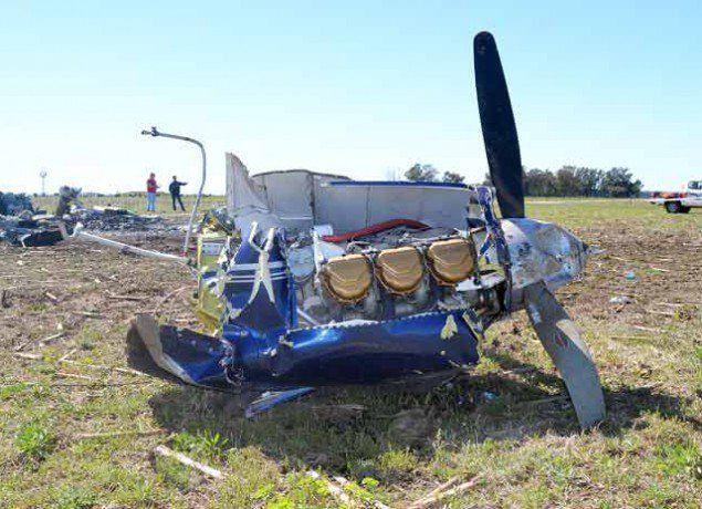 Fatal. Una avioneta se estrelló en una zona rural entre Buenos Aires y La Pampa.