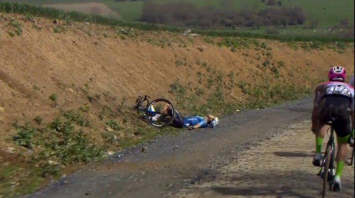 Infarto. El ciclista belga de 23 años fue trasladado a un hospital y falleció.