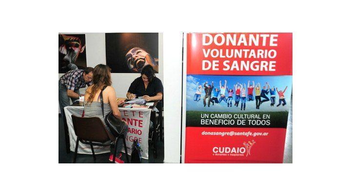 Voluntarios. Pese al incremento de donantes