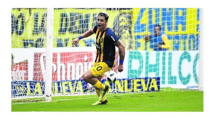 Goleador. Fernando Zampedri volvió a marcar ante Belgrano tras 6 fechas.