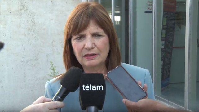 Patricia Bullrich celebró el fallo contra Los Monos: Es histórico