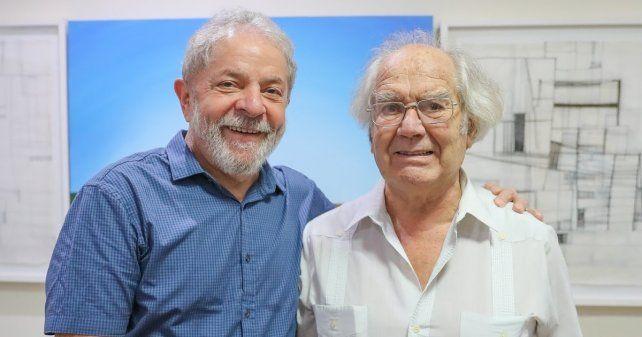 Defensa. Pérez Esquivel reunió 100 mil firmas para nominar a Lula al Nobel de la Paz.