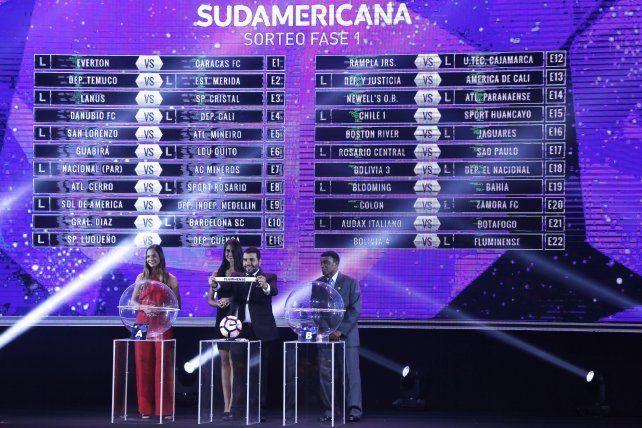 Los equipos rosarinos arrancan el jueves ante brasileños en la Copa Sudamericana.