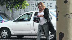 libre. Lorena Verdún, ex mujer de Claudio Pájaro Cantero, fue absuelta de asociación ilícita y encubrimiento.