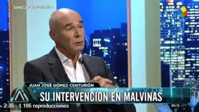 Gómez Centurión: Las islas Malvinas van a ser argentinas