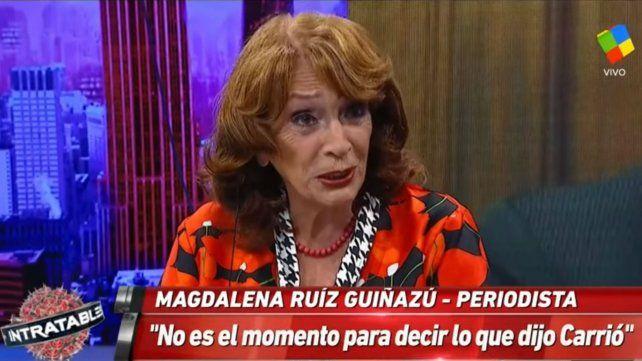 Ruíz Guiñazú espera las pruebas de Carrió contra Lorenzetti