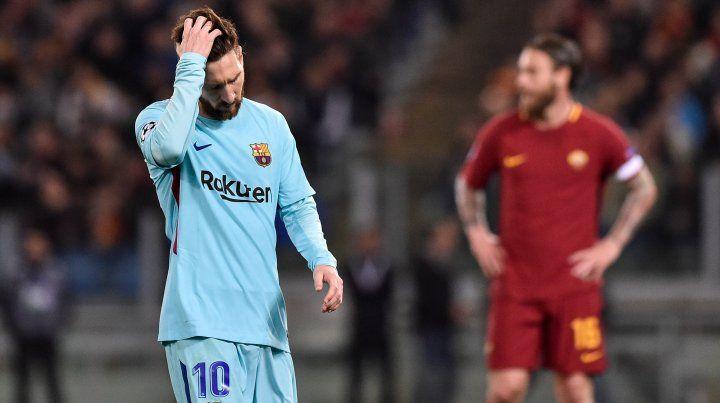Messi y Agüero fueron eliminados de la Champions League
