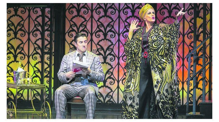 Legendaria. Valeria Lynch se pone en la piel de Norma Desmond.
