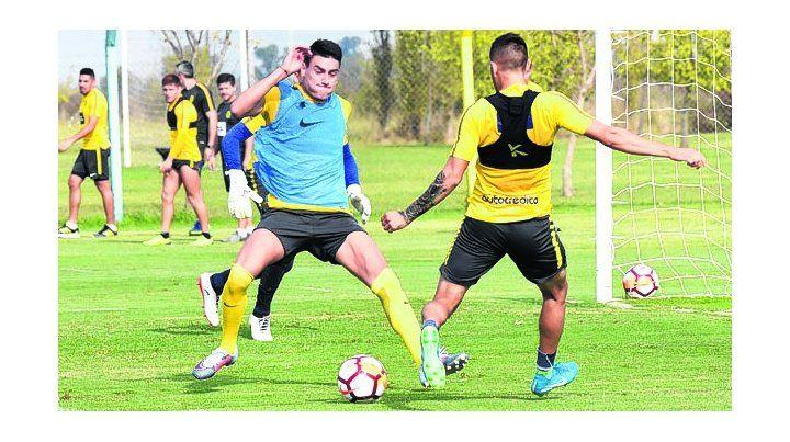 Esfuerza la máquina. Mauricio Martínez se recuperó de una lesión y será suplente.