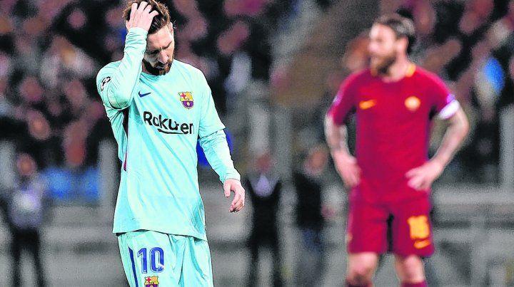 ¿Y ahora? Messi tiró dos tiros libres afuera
