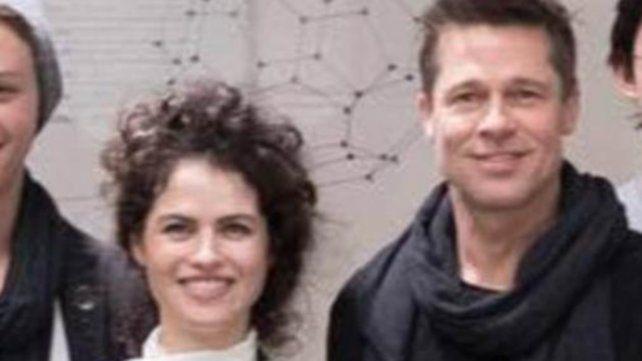 Quién es la bella arquitecta que conquistó a Brad Pitt