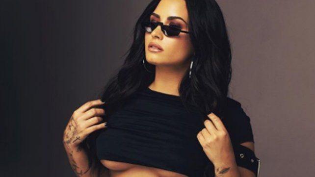 Demi Lovato mostró sus estrías y celulitis con fotos en Instagram