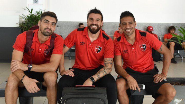 El plantel de Newells vuela a Curitiba con su ilusión a cuestas