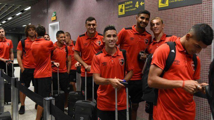 Newells llegó a Curitiba y se instaló pensando en el choque de la Sudamericana