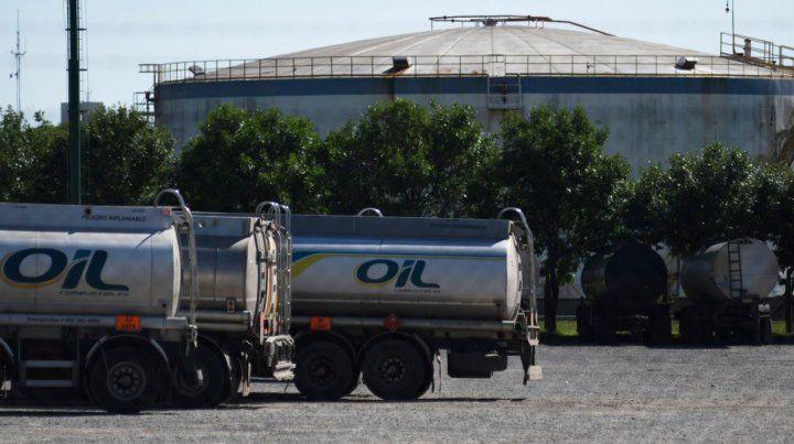 La Justicia envió a Gendarmería para mantener la seguridad en la planta de Oil en San Lorenzo