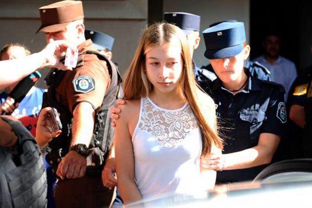 A juicio oral. La entrerriana Nahir Galarza podría ser condenada a prisión perpetua.