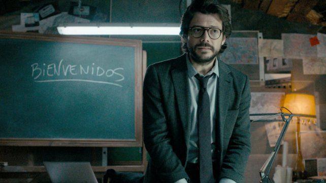 El Profesor. El actor Álvaro Morte apuesta a prolongar su papel.