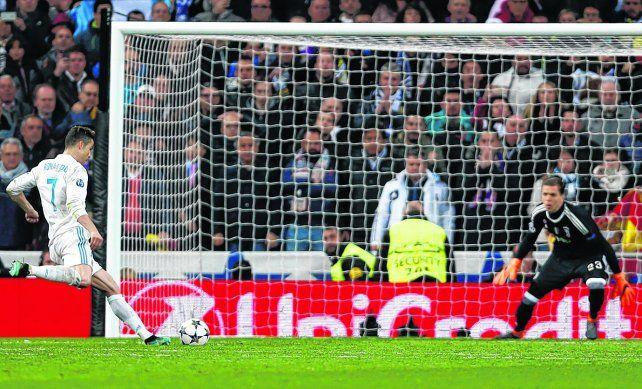 Vale el paso a las semifinales. El remate del portugués Cristiano Ronaldo le dio a Real Madrid una clasificación más sufrida de lo que sus hinchas esperaban.