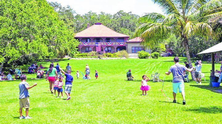 Aire puro. Miami ofrece una amplia variedad de espacios para relajarse y disfrutar de la naturaleza en familia.