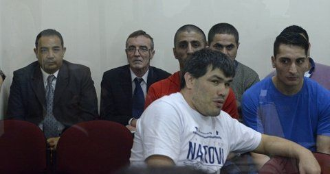 acusados. Hugo Tognoli (izq) fue juzgado junto con otras 23 personas