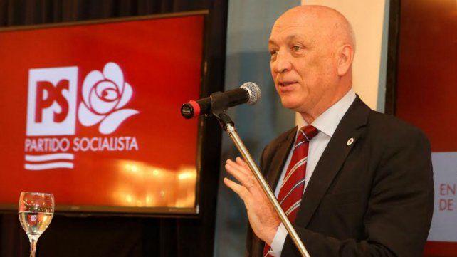 Consenso. Antonio Bonfatti encabeza la lista de unidad acordada entre los distintos sectores del PS.