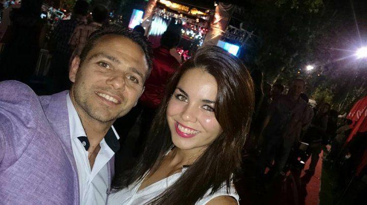 Pablo Perretta y Sabrina Medina