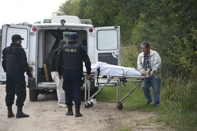 Ejecución. El cuerpo fue hallado en las cercanías del cementerio de Ibarlucea.