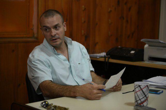 Investigado. Alejandro Druetta fue desplazado ayer de su cargo de jefe de Contrainteligencia de la PDI.