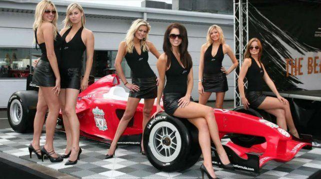 La promotoras volvieron a la Fórmula Uno.