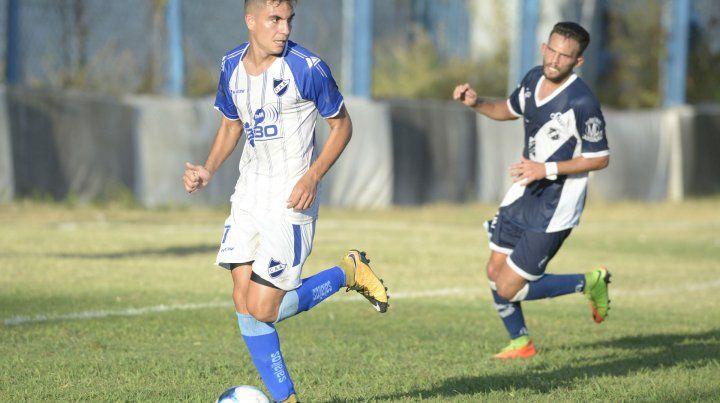 Poder de fuego. Nazareno Bartomioli quiere ganar los cuatro partidos que restan.