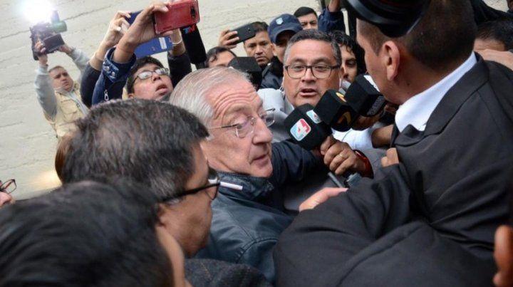 Fellner recuperó la libertad a sólo 48 horas de ser detenido