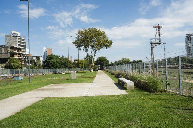 Una nueva franja de uso público ubicada en avenida Aristóbulo del Valle