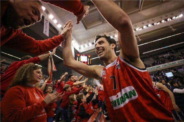 Experimentado y campeón. Ale Bortolussi juega en España desde los 15 años.