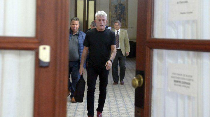 Con bolso en mano. Giraudo presentó una denuncia el viernes en la Justicia.