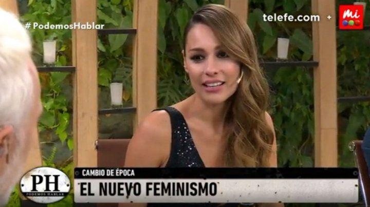 Pampita se manifestó a favor de la despenalización del aborto