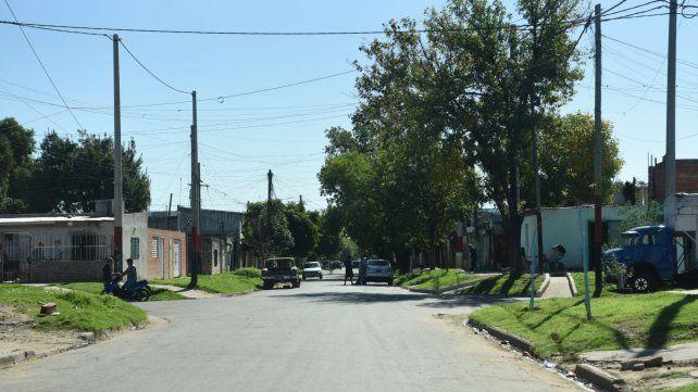 El crimen ocurrió en inmediaciones de Centeno y Pueyrredón.