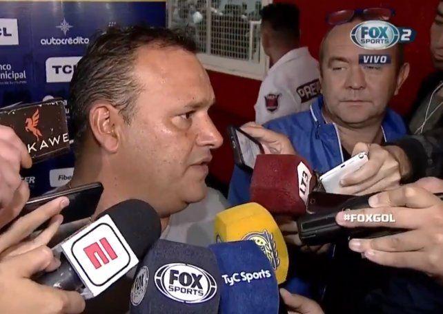 Leo Fernández dijo que Central perdió el partido en dos jugadas