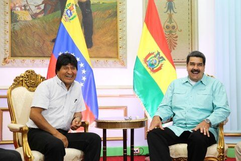 amigos. Maduro